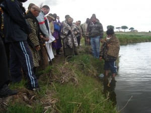 Khoisan - Princess Vlei cleansing ceremony