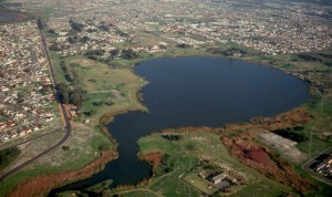 Aerial Picture of Princess Vlei towards Southfield
