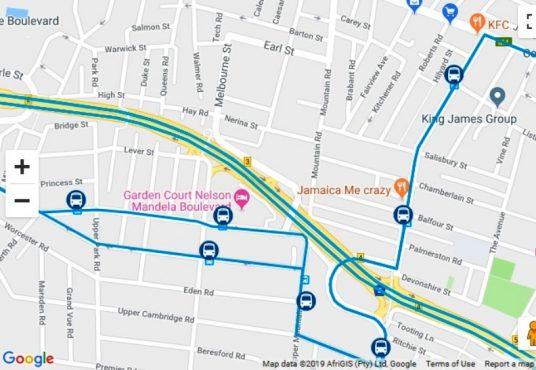 Raydave Woodstock MyCiti Route